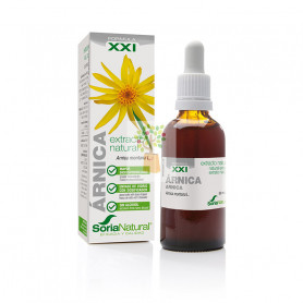 EXTRACTO DE ARNICA FORMULA XXI 50Ml. SORIA NATURAL