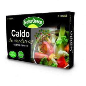 CALDO DE VERDURAS EN CUBITOS 8x10,5Gr. NATURGREEN