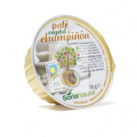 PATE DE CHAMPIÑON 50Gr. SORIA NATURAL ALIMENTACION