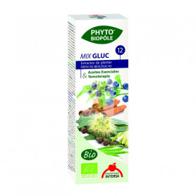 PHYTO-BIOPOLE Nº12 MIX-GLUC BIO 50Ml. INTERSA
