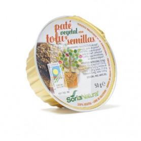 PATE DE TOFU Y SEMILLAS 50Gr. SORIA NATURAL ALIMENTACION