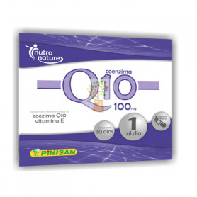 COENZIMA Q10 100Mg. 30 CAPSULAS PINISAN