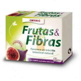 FRUTAS Y FIBRAS CLASICO 24 CUBOS ORTIS