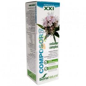 COMPOSOR 5 SEDANER COMPLEX FORMULA XXI 50Ml. SORIA NATURAL