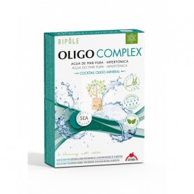 OLIGO-COMPLEX AGUA DE MAR 20 AMPOLLAS. INTERSA
