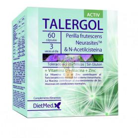 TALERGOL ACTIV 60 CAPSULAS DIETMED