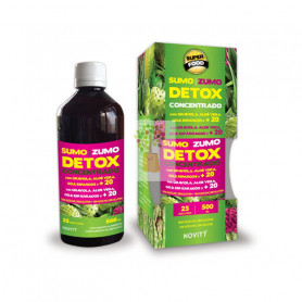 ZUMO CONCENTRADO DETOX 500Ml. NOVITY