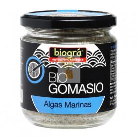 GOMASIO CON ALGAS ENVASE DE CRISTAL 120Gr. BIOGRA
