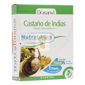 CASTAÑO DE INDIAS 30 CAPSULAS DRASANVI
