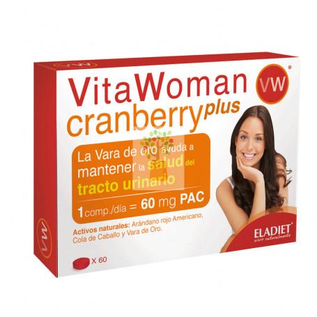 VITAWOMAN CRANBERRY PLUS 60 COMPRIMIDOS ELADIET