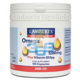 OMEGA 3, 6 y 9 120 CAPSULAS LAMBERTS