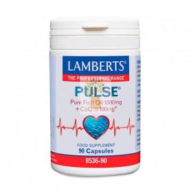 PULSE (1300Mg. DE OMEGA 3 + 100Mg. COQ10) 90 CAPSULAS LAMBERTS