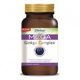 MEGA GINKGO COMPLEX 60 CAPSULAS DIETISA