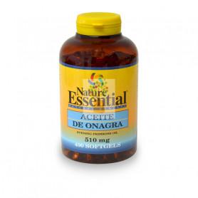 ACEITE DE ONAGRA 500Mg. (10% GLA) 400 PERLAS NATURE ESSENTIAL