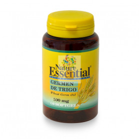 ACEITE DE GERMEN DE TRIGO 500Mg. 60 PERLAS NATURE ESSENTIAL