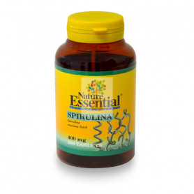 ESPIRULINA 400Mg. 250 TABLETAS NATURE ESSENTIAL