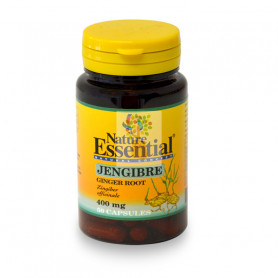 JENGIBRE 400Mg. 50 CAPSULAS NATURE ESSENTIAL