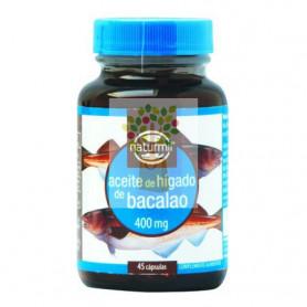 ACEITE DE HIGADO DE BACALAO 400Mg. 45 PERLAS NATURMIL