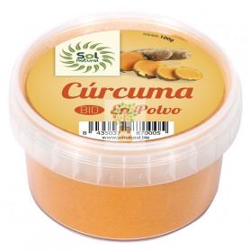 CURCUMA EN POLVO BIO 100Gr. SOL NATURAL