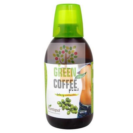 GREEN COFFEE PLUS CON STEVIA 500Ml. PLANTA POL