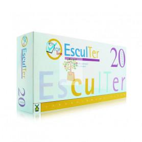 ESCULTER 3 20 VIALES+40 CAPSULAS TEGOR