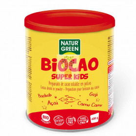BIOCAO SUPER KIDS 400Gr. NATURGREEN