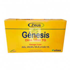 GENESIS DHA 1000TG 120 CAPSULAS ZEUS