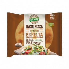 BASE PIZZA MASA FINA ESPELTA 390Gr. BIOCOP
