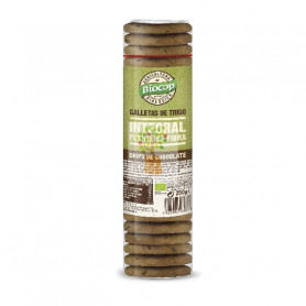 GALLETAS TRIGO INTEGRAL CON CHOCLATE 250Gr. BIOCOP