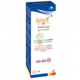 HERBETOM KIDS DEFENSAS Y ENERGIA 250Ml. HERBETOM