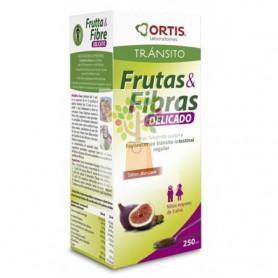 FRUTAS Y FIBRAS KIDS 250Ml. ORTIS