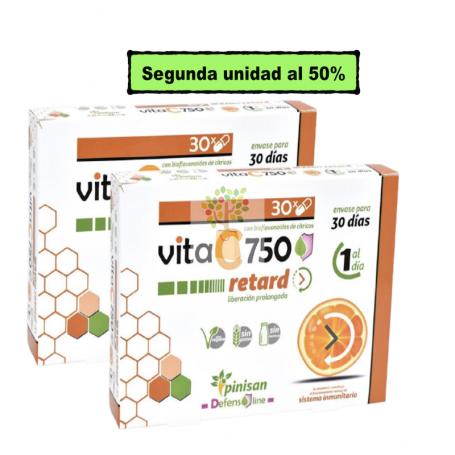 Vitamina C 750 Retard Pack