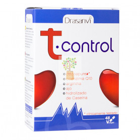 T-CONTROL 48 CAPSULAS DRASANVI