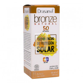 CREMA SOLAR PROTECCION 50 BRONZE DRASANVI