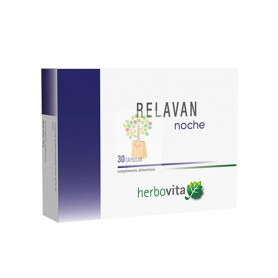 RELAVAN NOCHE 30 CAPSULAS HERBOVITA