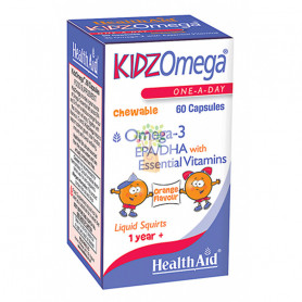 KIDZOMEGA 60 CAPSULAS HEALTH AID
