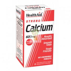 CALCIO 600Mg. 60 COMPRIMIDOS HEALTH AID