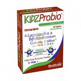 KIDZPROBIO 30 COMPRIMIDOS MASTICABLES HEALTH AID