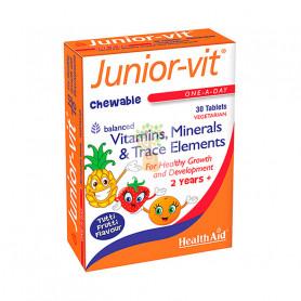 JUNIOR-VIT 30 COMPRIMIDOS HEALTH AID