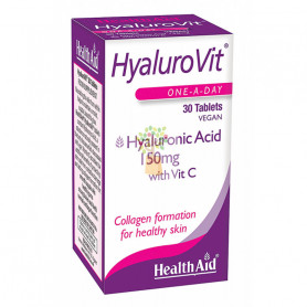 HYALUROVIT 30 COMPRIMIDOS HEALTH AID