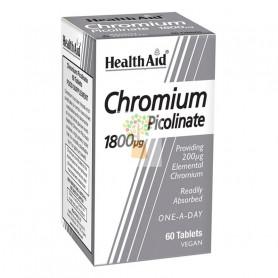 CROMO PICOLINATO 60 COMPRIMIDOS HEALTH AID