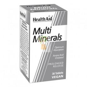 MULTIMINERALES 30 COMPRIMIDOS HEALTH AID