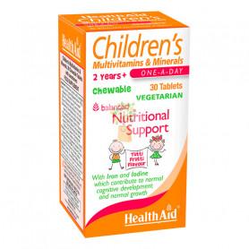 MULTINUTRIENTE INFANTIL 30 COMPRIMIDOS HEALTH AID
