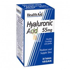 ACIDO HIALURONICO 55Mg. 30 COMPRIMIDOS HEALTH AID