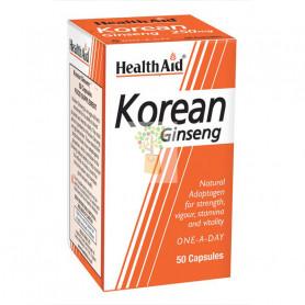 GINSENG KOREANO 500Mg. 50 CAPSULAS HEALTH AID