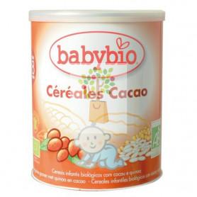 BABYBIO CEREALES CACAO (A PARTIR DE 8 MESES) 220Gr. BABYBIO