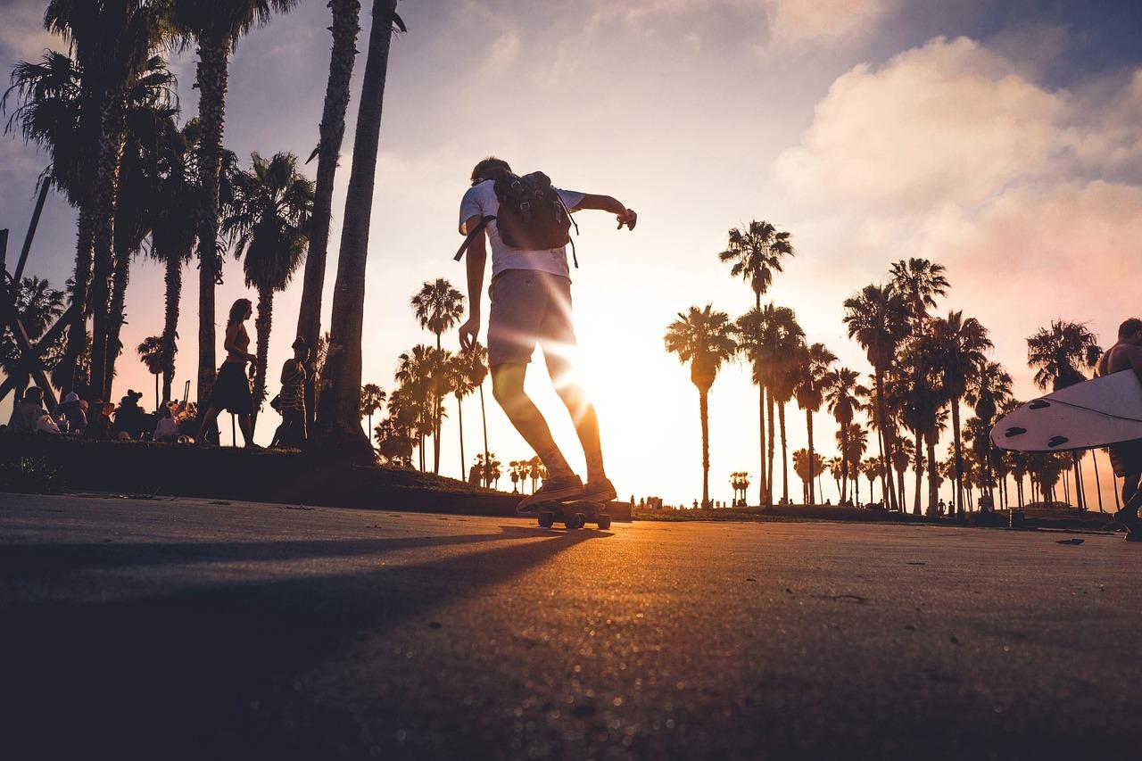 Skater al sol